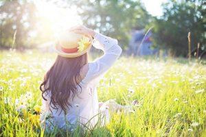 Dotik sonca spomladi